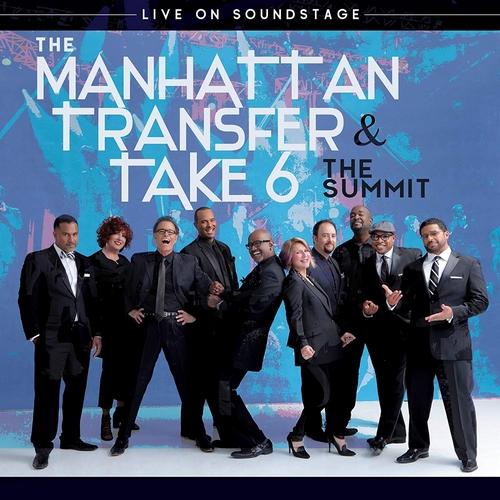 The Manhattan Transfer & Take 6 - The Summit (2018, Blu-ray)