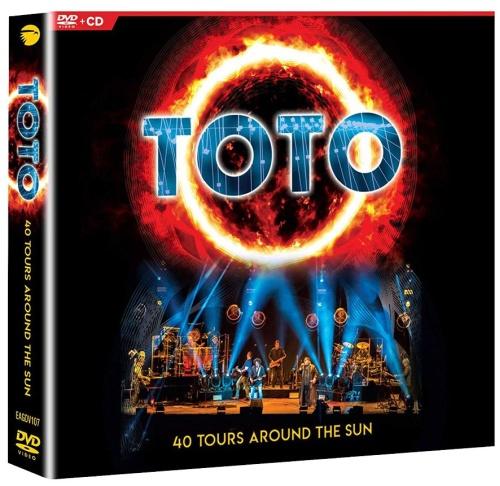 Toto - 40 Tours Around the Sun (2019, Blu-ray)