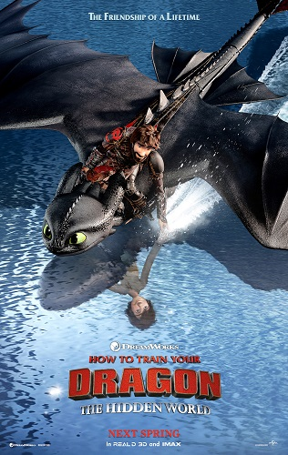 How to Train Your Dragon The Hidden World 2019 1080p HDRip X264 AC3-EVO