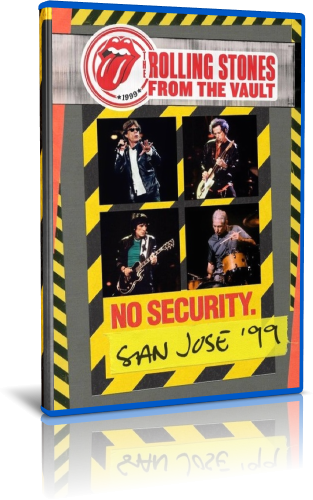 The Rolling Stones - From The Vault: No Security - San Jose '99 (2018, Blu-ray)