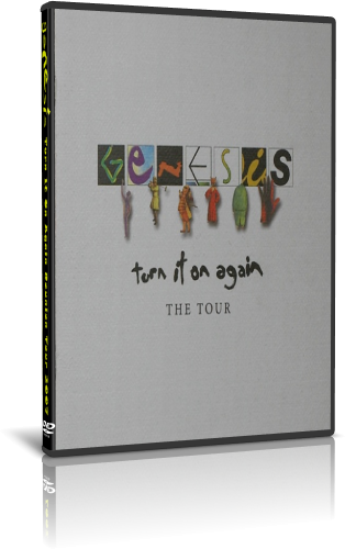 Genesis - Turn It On Again Reunion Tour 2007 (2019, DVD9)