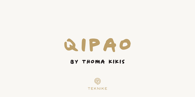 Шрифт Qipao