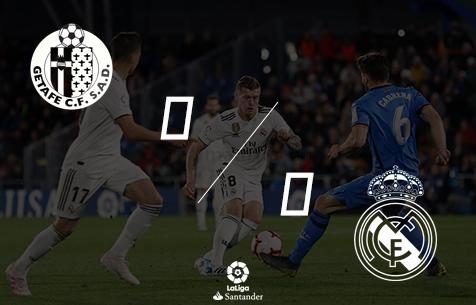 Getafe C.F. - Real Madrid C.F. 0:0
