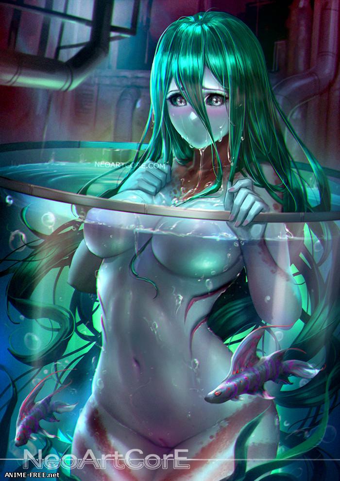 Daily Life With A Monster Girl / Monster Musume no Iru Nichijou / Повседневная жизнь с девушкой-монстром [Ptcen] [JPG,PNG,GIF] Hentai ART