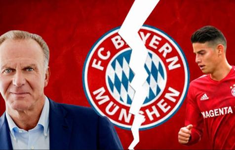 """Румменигге: """"Бавария"""" не будет выкупать Хамеса"""""""