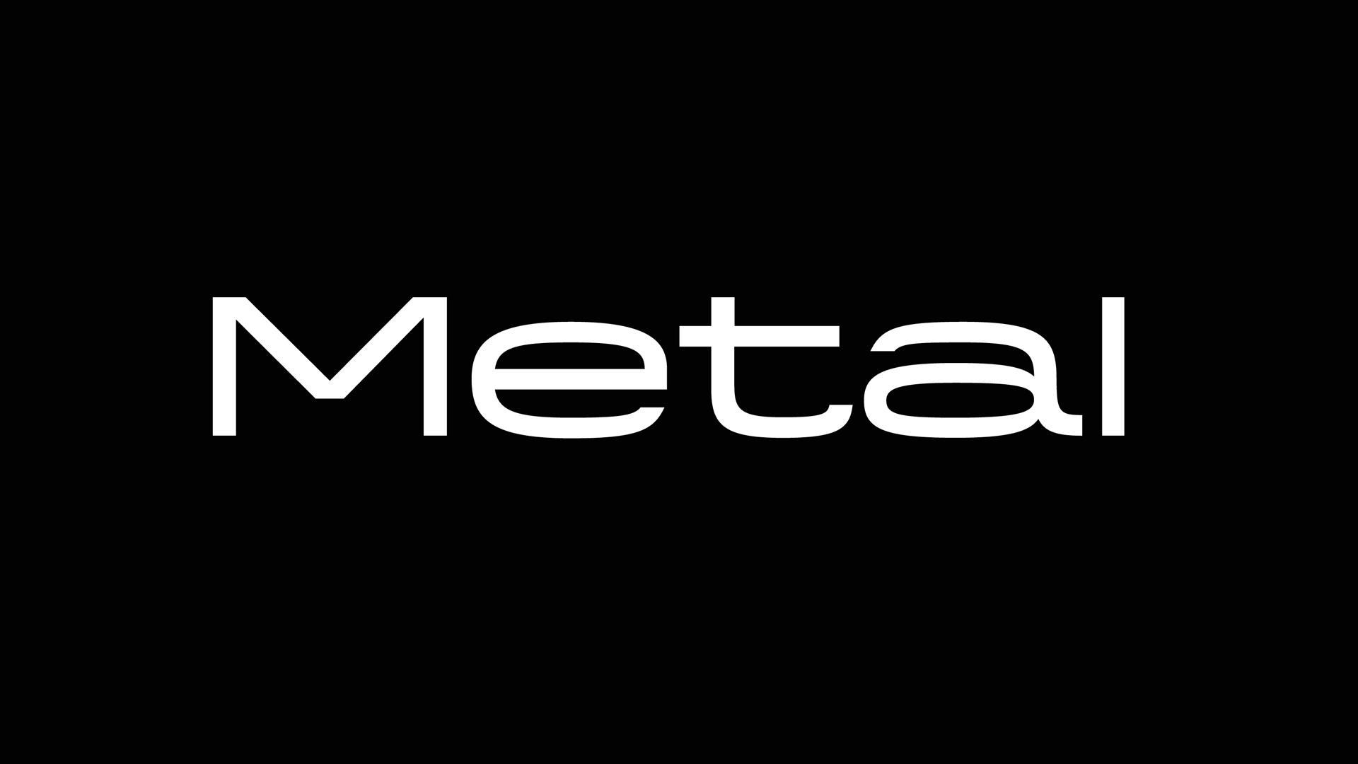 Шрифт Metal