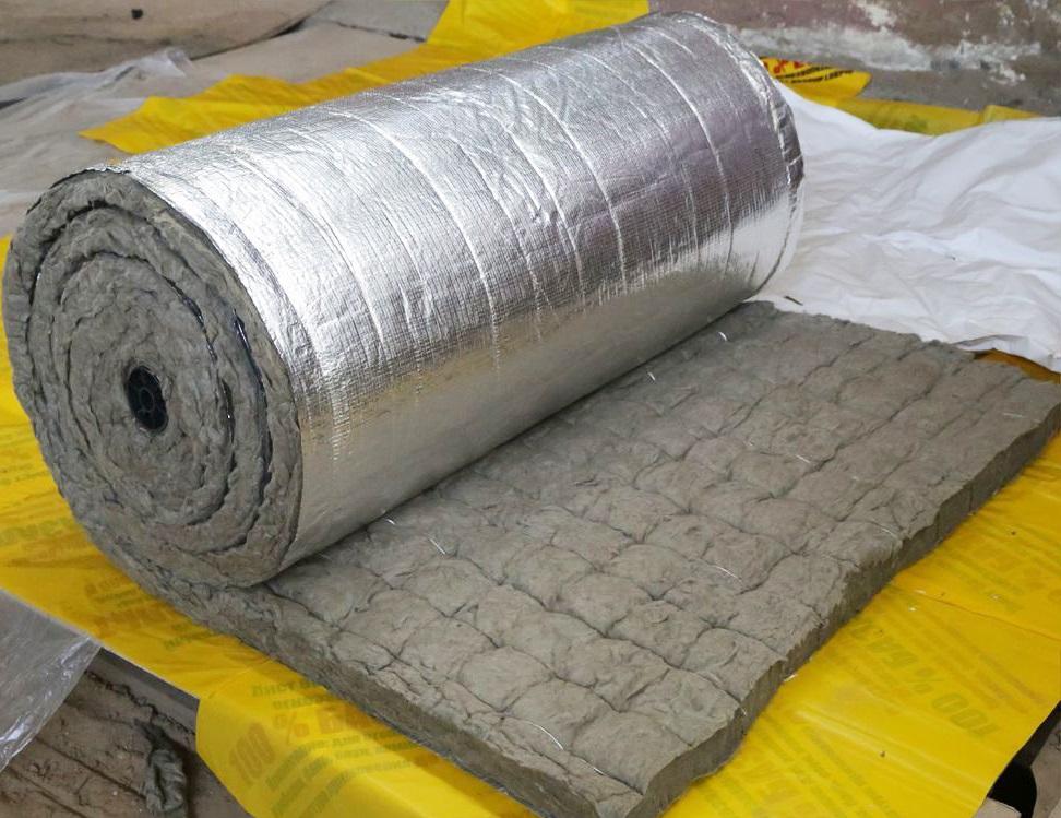 Базальтовый утеплитель со слоем фольги