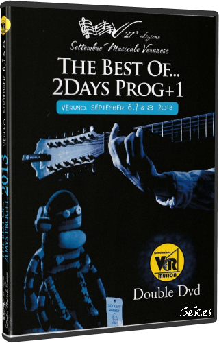 The Best Of    2Days Prog+1 Veruno, September 6,7 & 8 (2013, 2xDVD5)