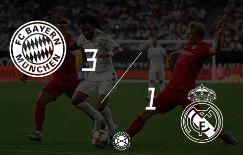FC Bayern Munchen - Real Madrid C.F. 3:1