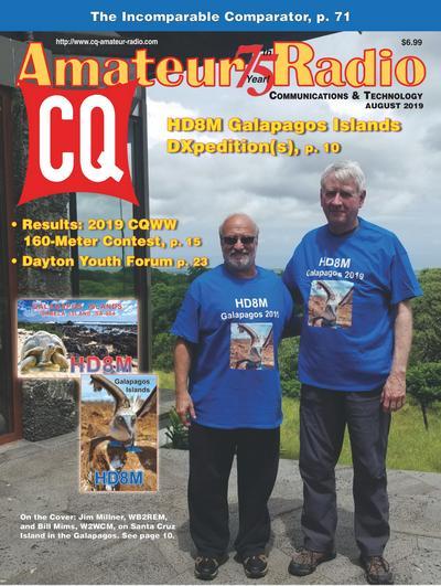 CQ Amateur Radio No.8 (August 2019)