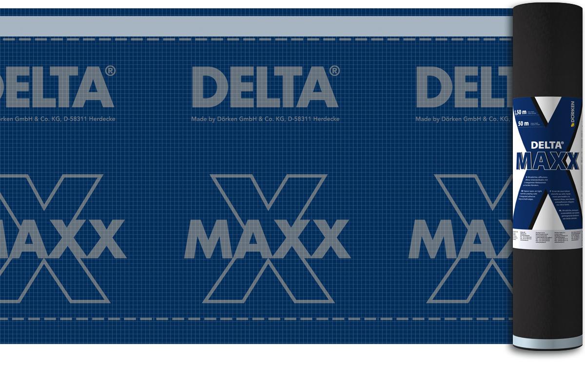 Гидроизоляционная мембрана Delta Maxx X