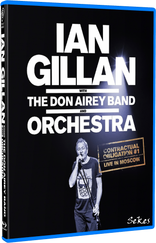 Ian Gillan, Don Airey Band Contractual Obligation #1 - Live in Moscow (2019, Blu-ray)