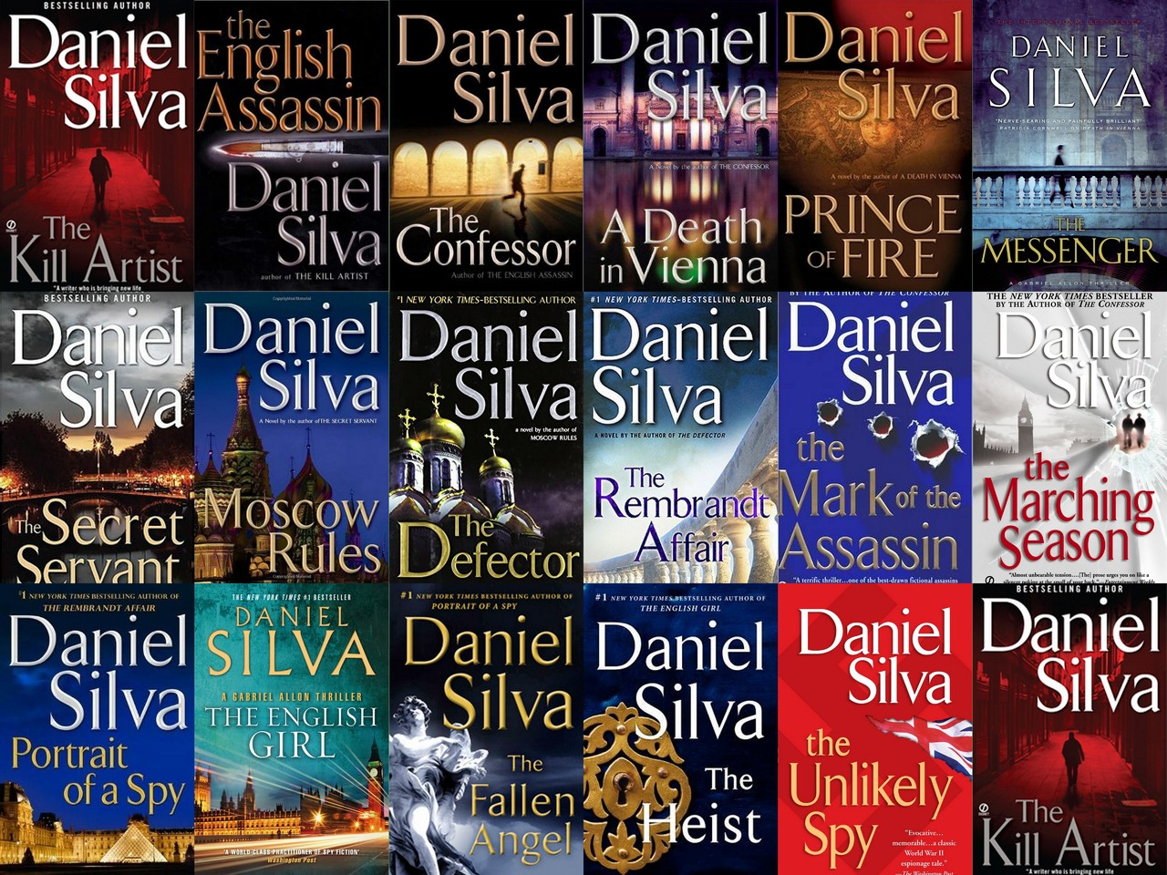 Daniel Silva - Collection