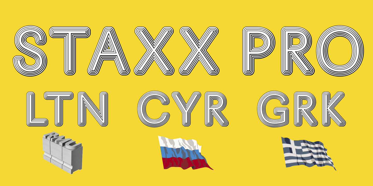Шрифт Staxx Pro