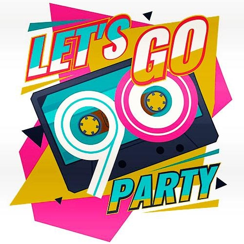 VA - Lets Go Party Time 90s (2019)
