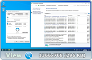 Windows 10 Pro VL 1903 18362.418 by OneSmiLe (x64) (16.10.2019) Rus