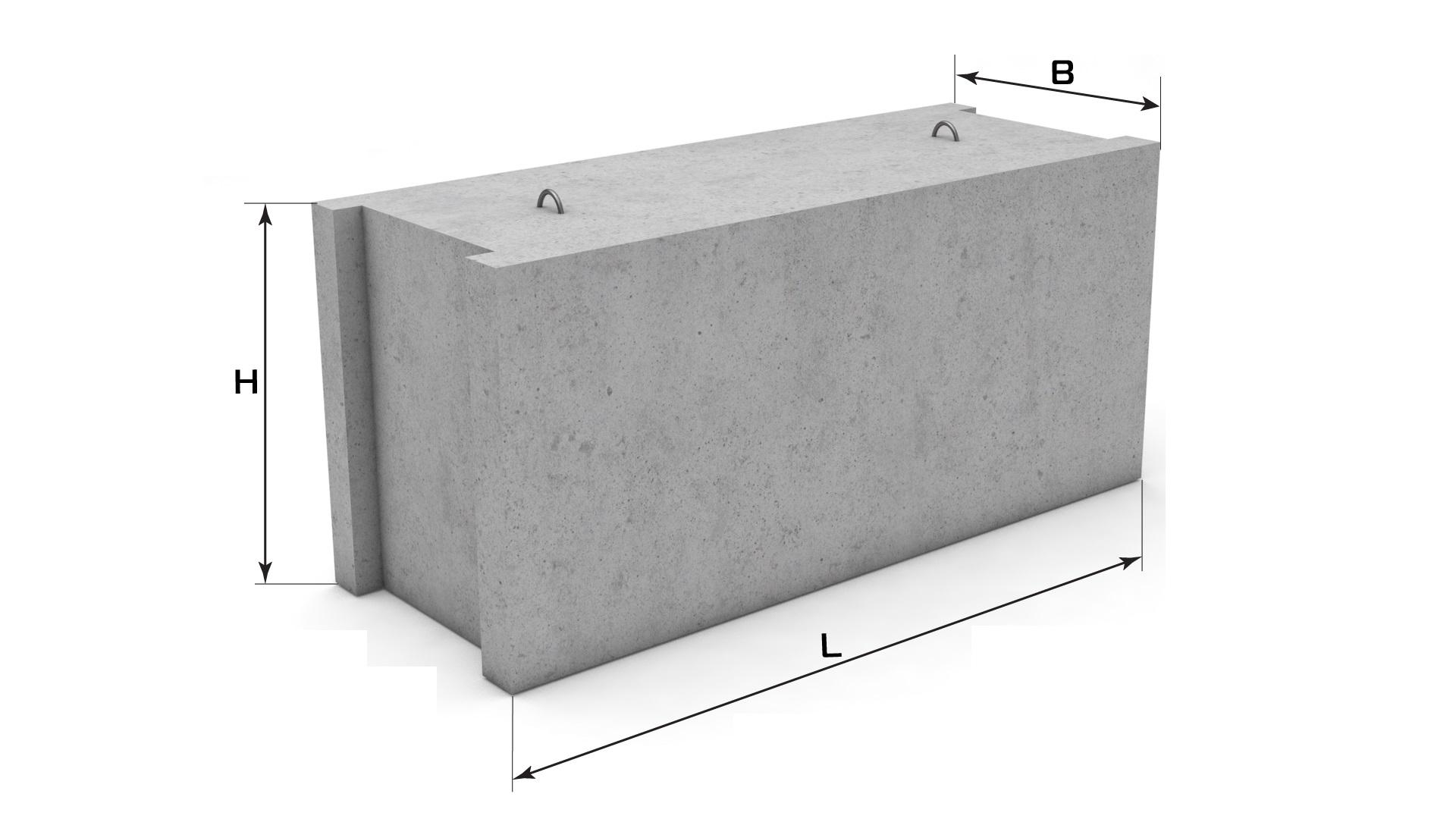 Как выглядит фундаментный блок
