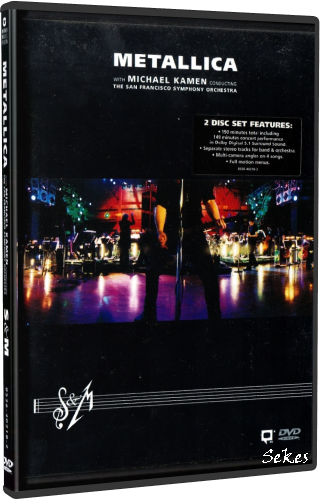 Metallica - S&M With The San Francisco Symphony Orchestra (2000, 2xDVD9)