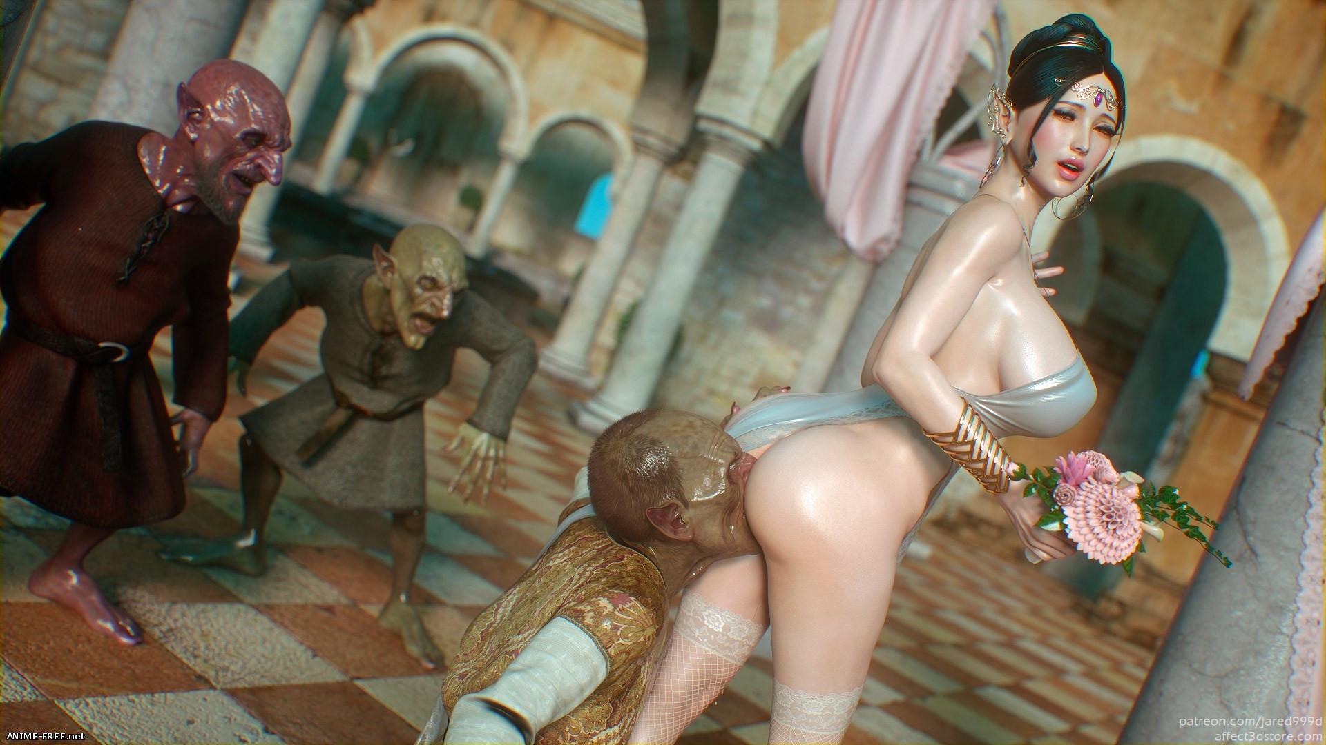 Elf Slave 4: Cross Fate [Uncen] [3DCG] [No-Text] Porn Comics