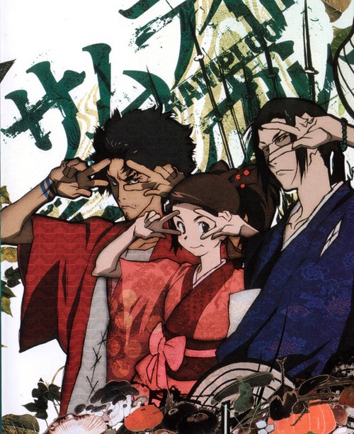 Самурай Чамплу / Samurai Champloo [TV] [26 из 26] [без хардсаба] [RUS(ext), UKR, JAP+SUB] [2004, приключения,комедия, драма, BDRip] [1080p]