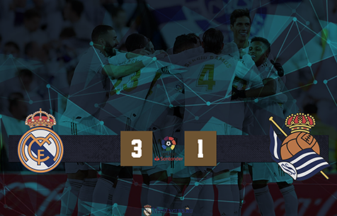 Real Madrid C.F. - Real Sociedad S.A.D. 3:1