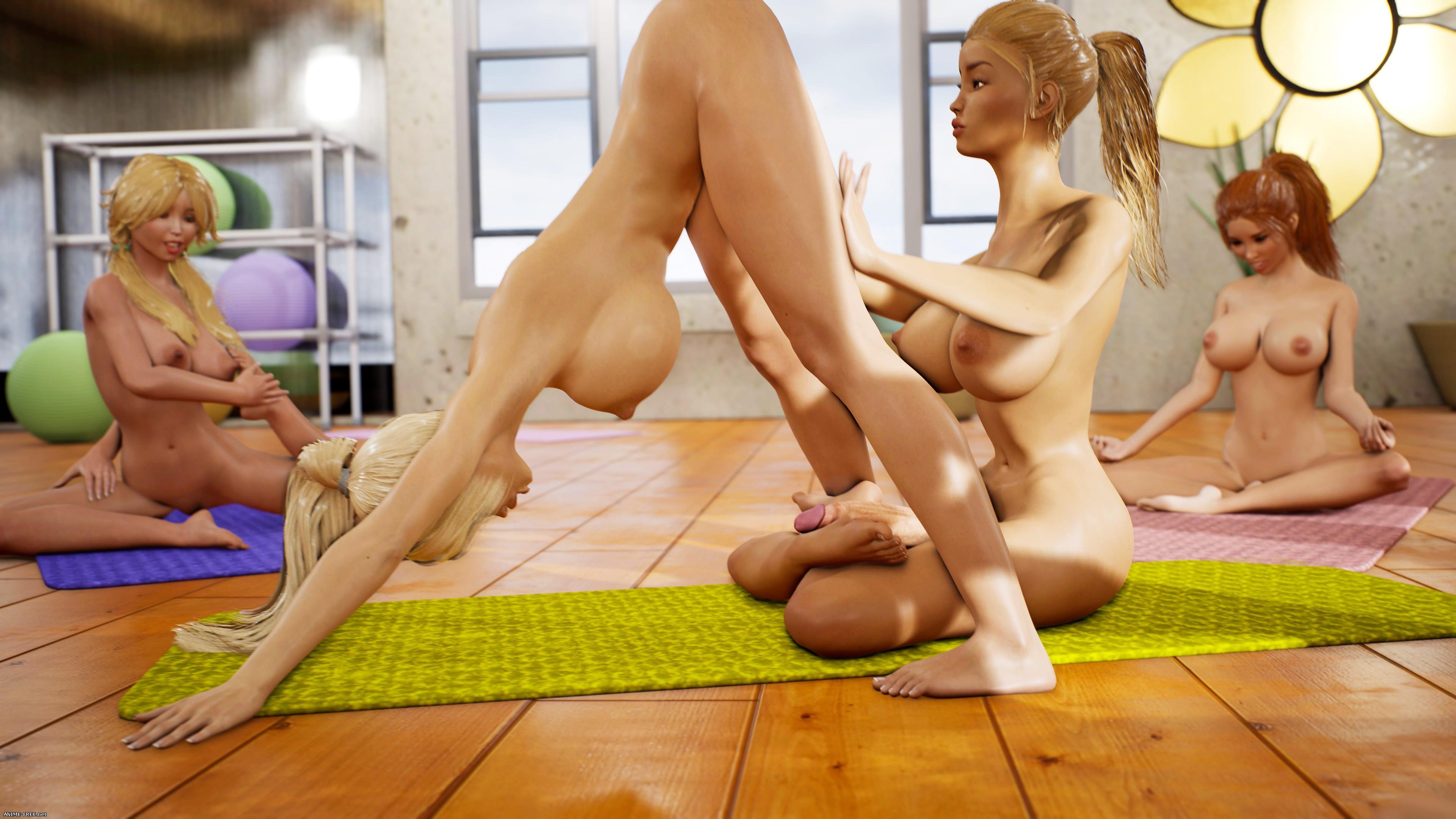 Yoga Class - Tantric Sex Basics 1 & 2 Bundle [Uncen] [3DCG] [No-Text] Porn Comics