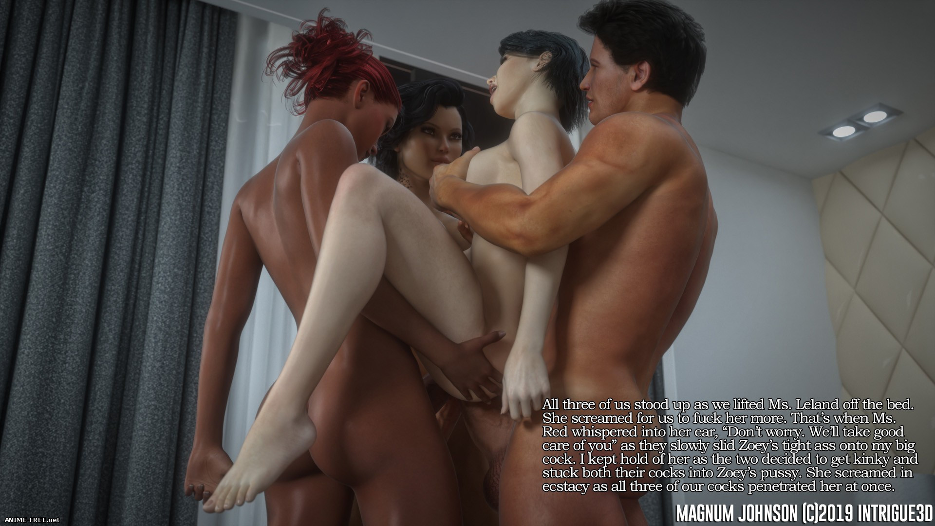Magnum Johnson [Uncen] [3DCG] [ENG] Porn Comics