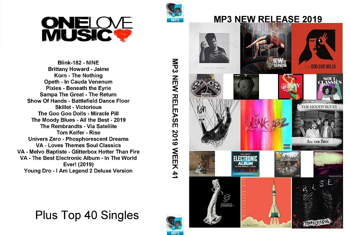 MP3 NEW RELEASES 2019 WEEK 41
