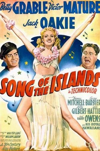 Песнь островов / Song of the Islands (Уолтер Лэнг / Walter Lang) [1942, США, мюзикл, мелодрама, комедия, DVDRip] VO (Kenum) + Sub Rus (Северный) + Original Eng
