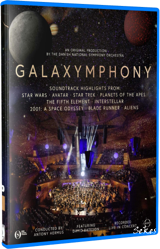 Galaxymphony - The Danish National Symphony Orchestra (2019, Blu-ray)