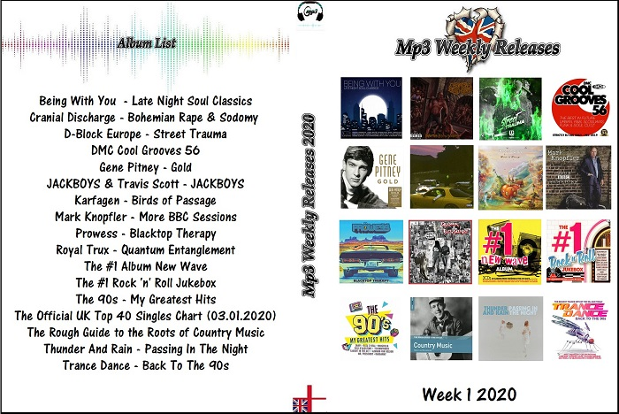 MP3 NEW RELEASES 2020 WEEK 01