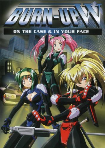 Burn Up W   Burn-Up W - On the Case & In your Face   Разгон! Дубль-вэ [1996, OVA] DVDRip 480p raw+rus