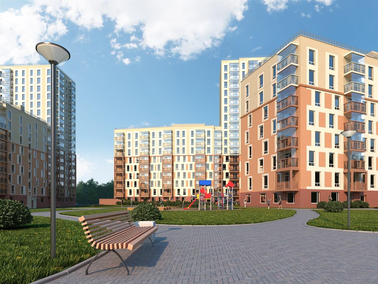 Новостройки в Красносельском районе
