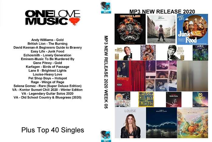 MP3 NEW RELEASES 2020 WEEK 05