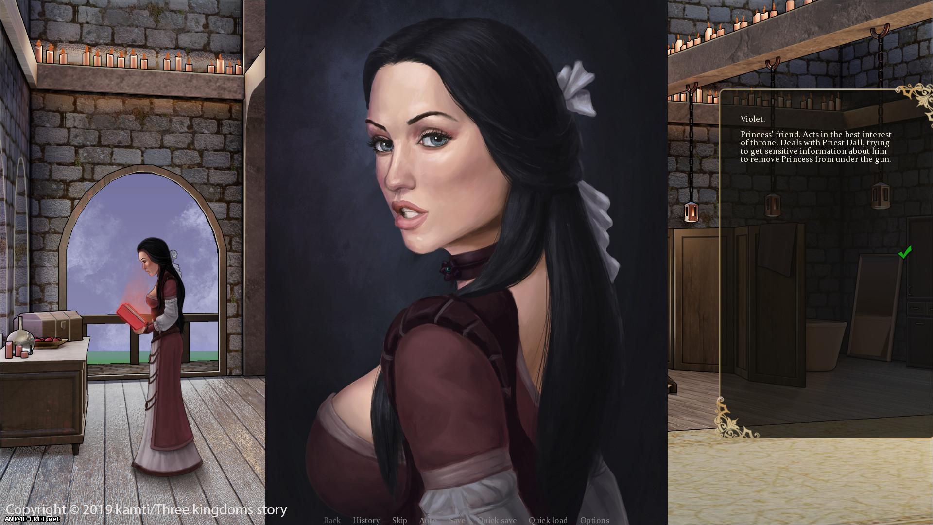 История трех королевств: Конуссия / Three kingdoms story: Conussia [2020] [Uncen] [VN] [Android Compatible] [RUS] H-Game