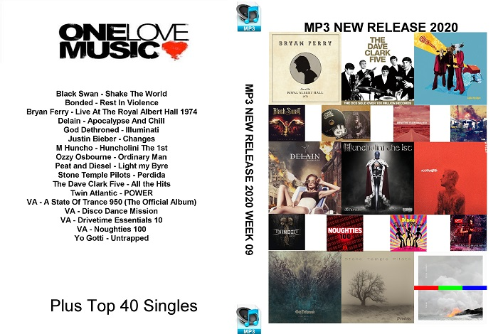 MP3 NEW RELEASES 2020 WEEK 09