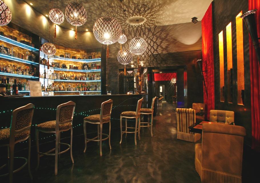 Ресторан отеля Regina Hotel Baglioni в стиле арт-деко