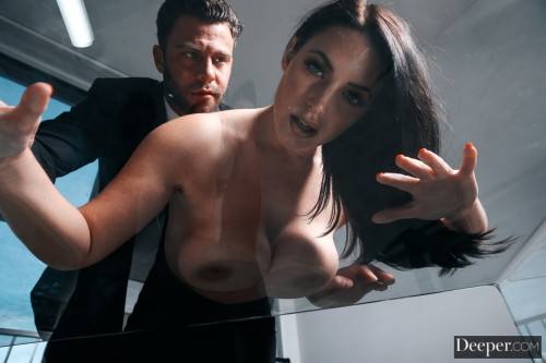 Постер:Angela White - Strangers on a Plane (2020) SiteRip