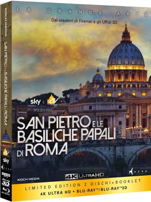 San Pietro E Le Basiliche Papali Di Roma 3D (2016) .mkv 4K 2160p BDRip HEVC x265 SDR ITA ENG DTS AC3 VaRieD