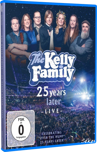 The Kelly Family - 25 Years Later Live 2019 (2020, Blu-ray)