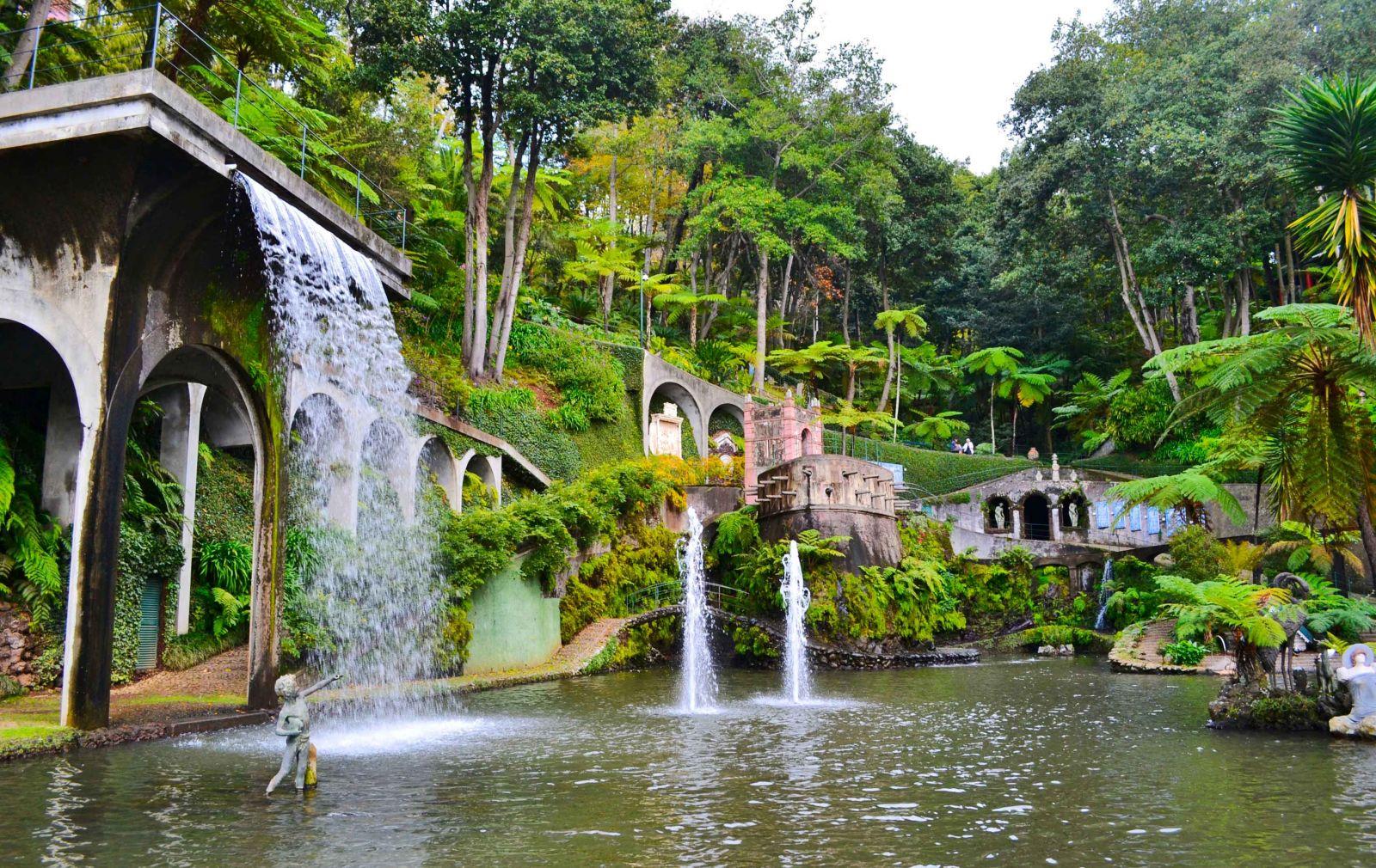 Водопады Мадейры