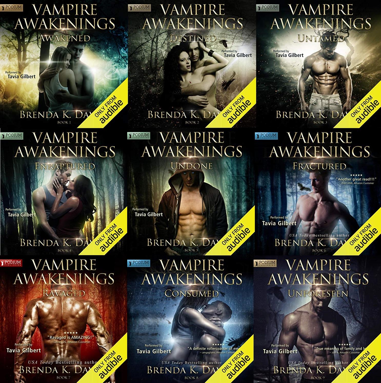 Vampire Awakening Series Book 1-9 - Brenda K. Davies