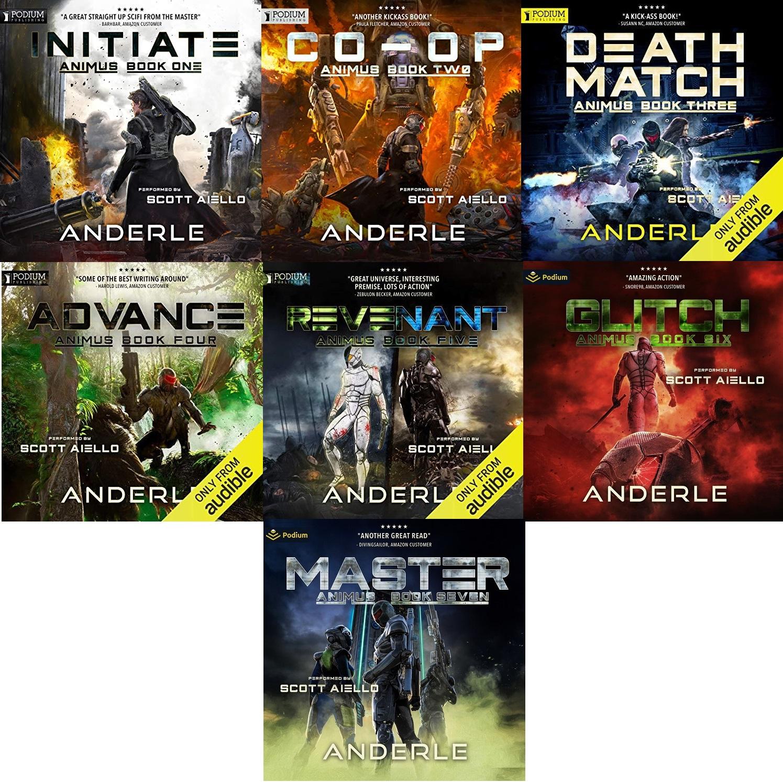 Animus Series Book 1-7 - Joshua Anderle, Michael Anderle