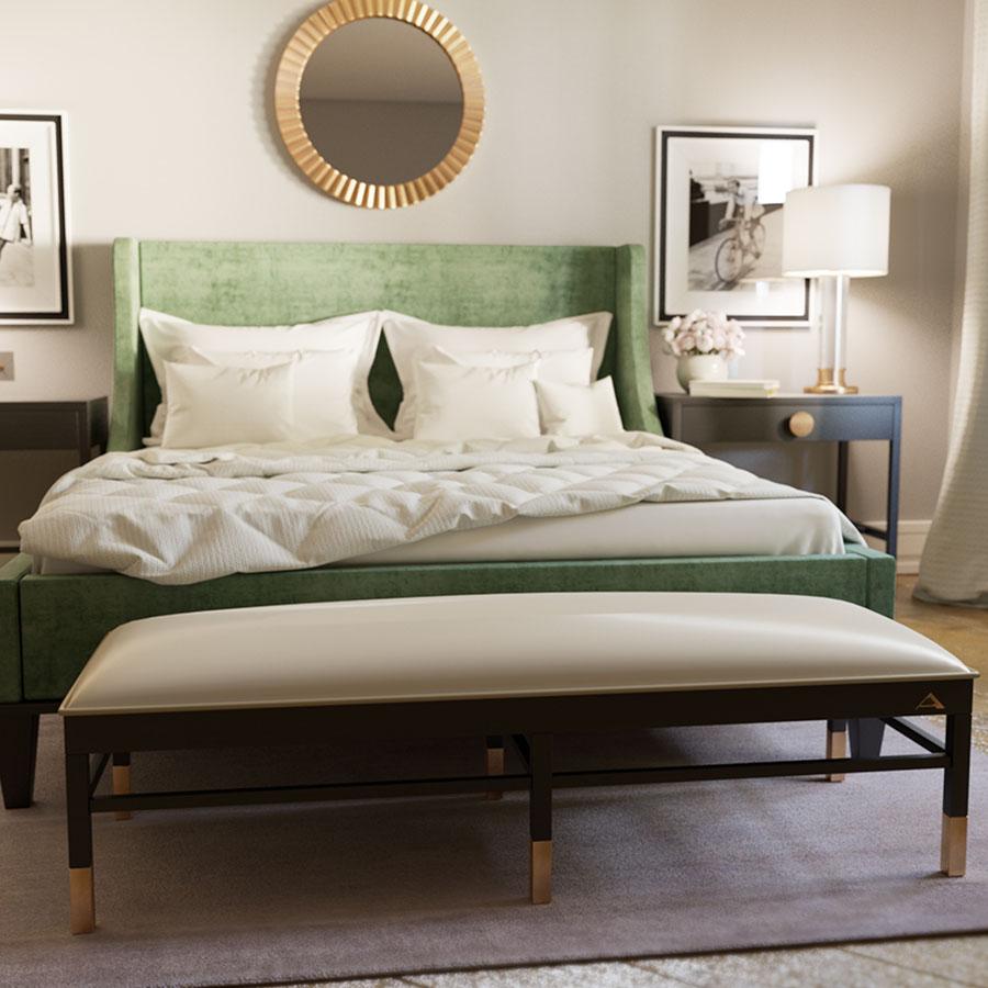 Кровать K003 и тумба T009