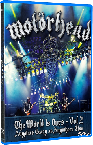 Motörhead - The World Is Ours Vol.2 (2012, Blu-ray)