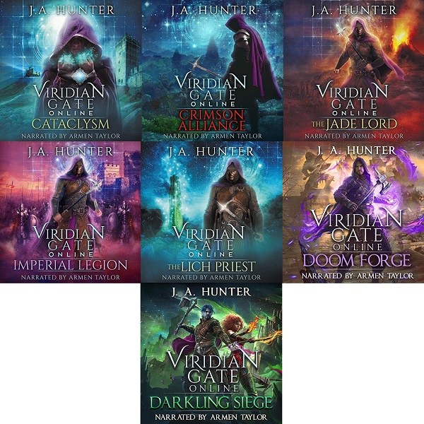 The Viridian Gate Archives Series Book 1-7 - James Hunter