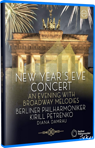 New Year's Eve Concert 2019 - An Evening With Broadway Melodies (2020, Blu-ray)