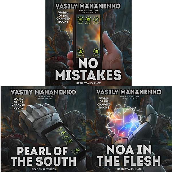World of the Changed Series Book 1-3 - Vasily Mahanenko