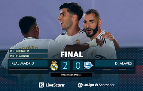 Real Madrid C.F. - Deportivo Alavés S.A.D. 2:0