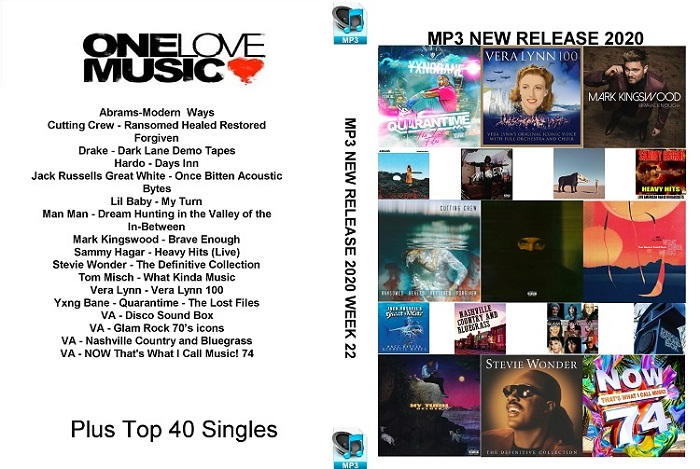 MP3 New Releases 2020 Week 22